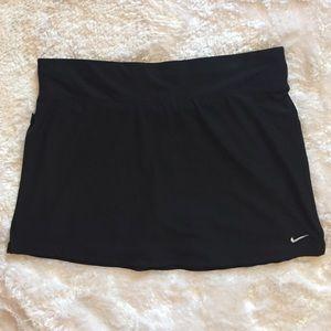Nike Black Fit Dry Skirt (Tennis Skirt)